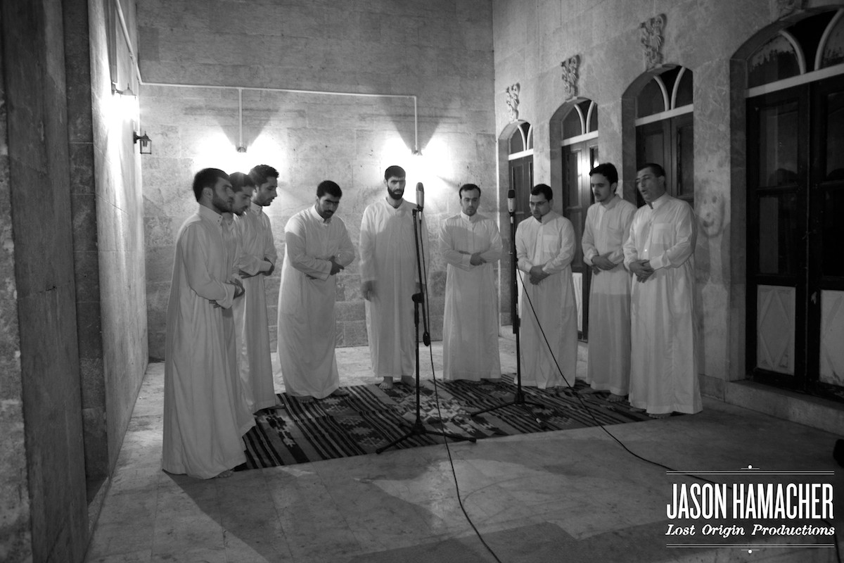 Sufi Recording Session - Aleppo, Syria - Jason Hamacher - Lost Origin Productions